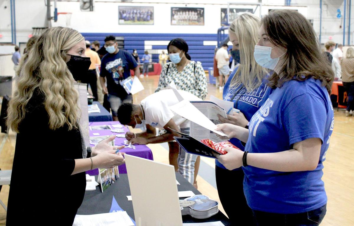 39 institutions represented at college expo