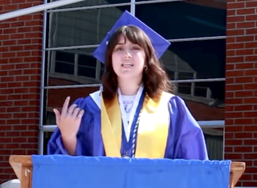 PTHS valedictorian addresses Class of 2020 graduates