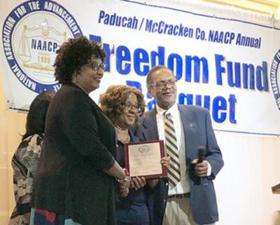 WKCTC faculty member honored for lifetime NAACP commitment