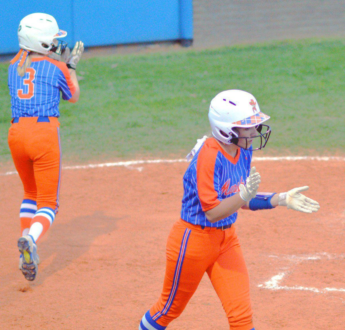 Lady Marshals open Slugfest with back-to-back victories