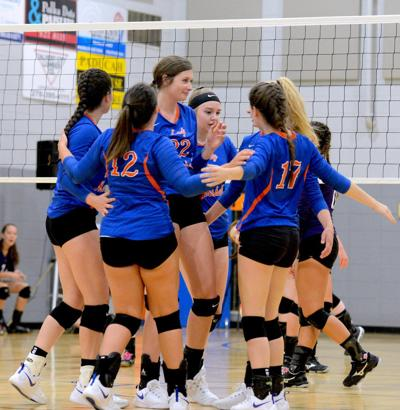 Lady Marshals rally in Kinder's first win as coach