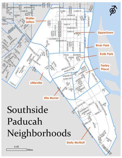 Southside Paducah neighborhoods