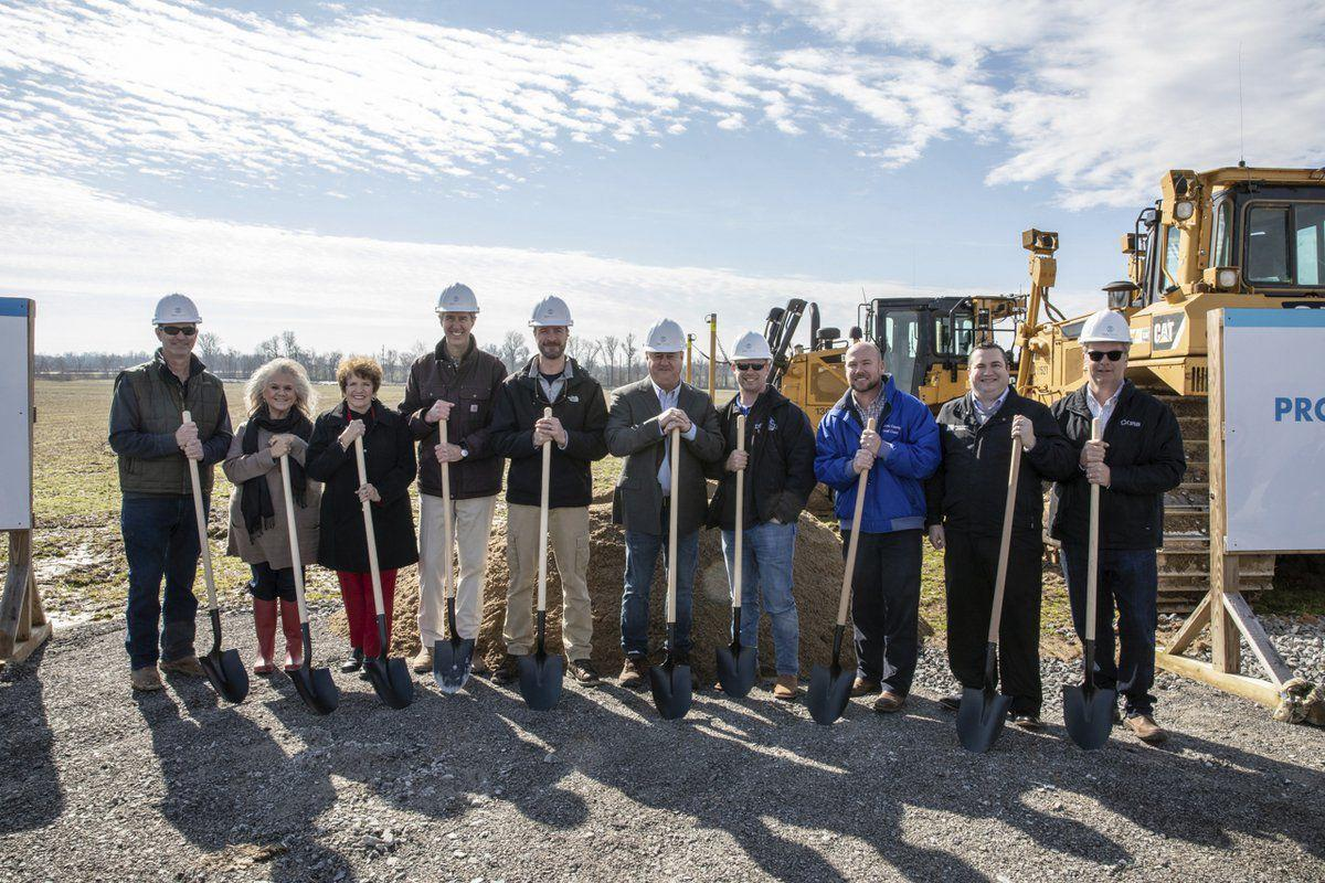 GenCanna breaks ground at Mayfield plant