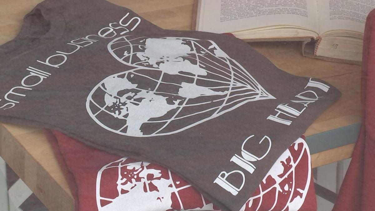 Small Business, Big Heart T-shirts