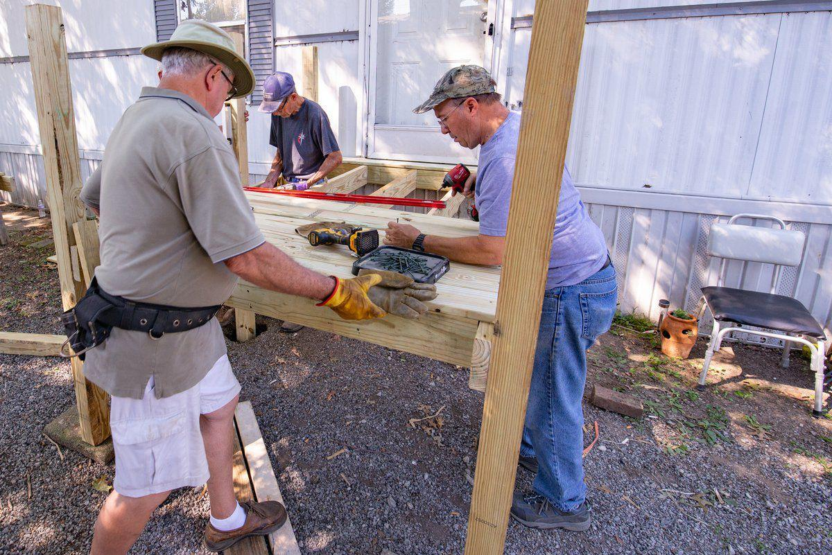 Ramp-building ministry makes desperate call for volunteers