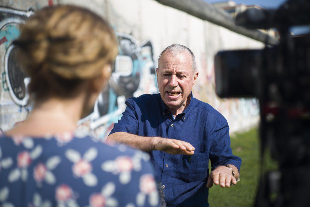 AP reporter recounts covering fall of Berlin Wall in 1989