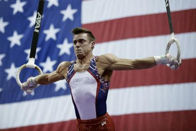 Mikulak cruises to 6th national title in men's gymnastics