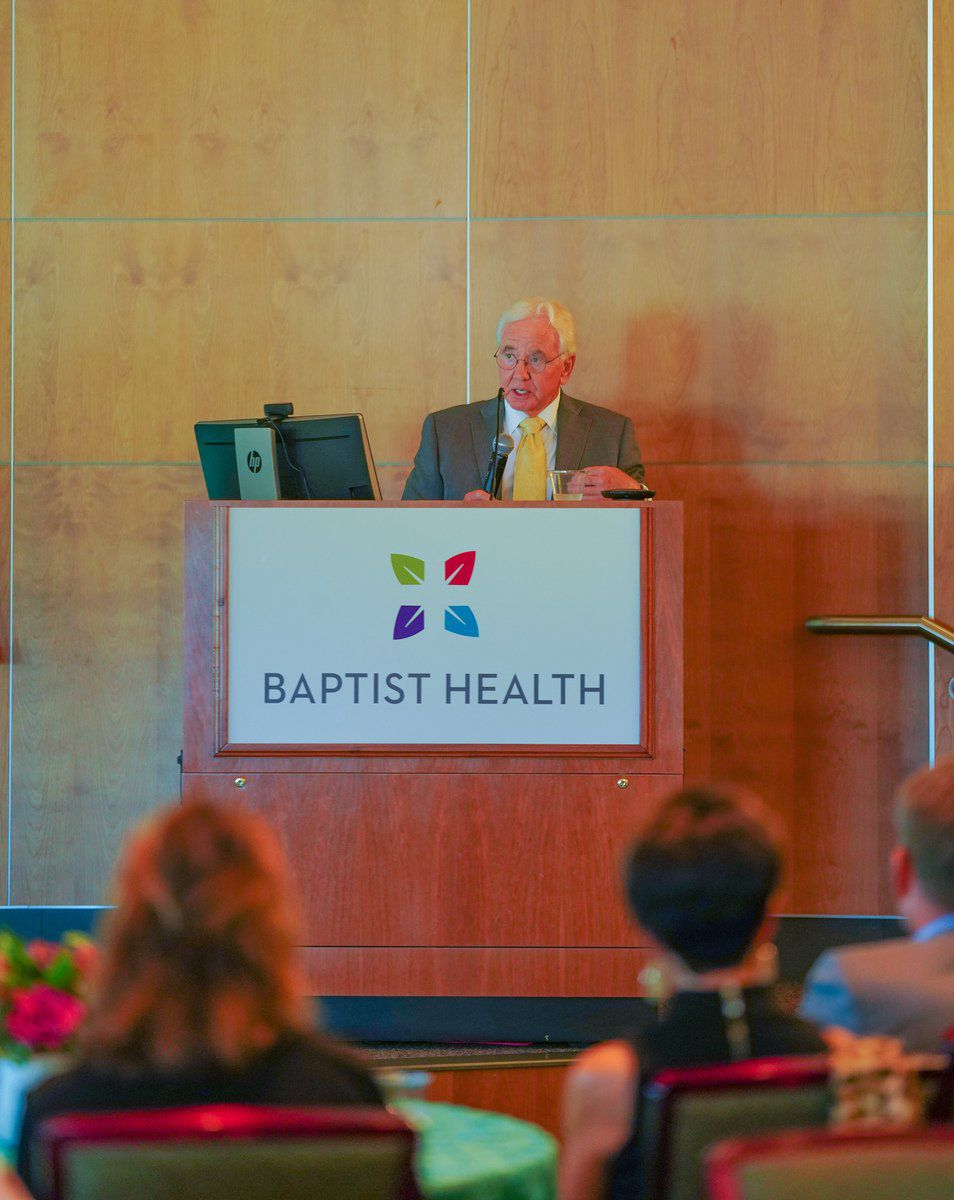 Baptist outreach director, cardiologist 'honored' by heart center classroom