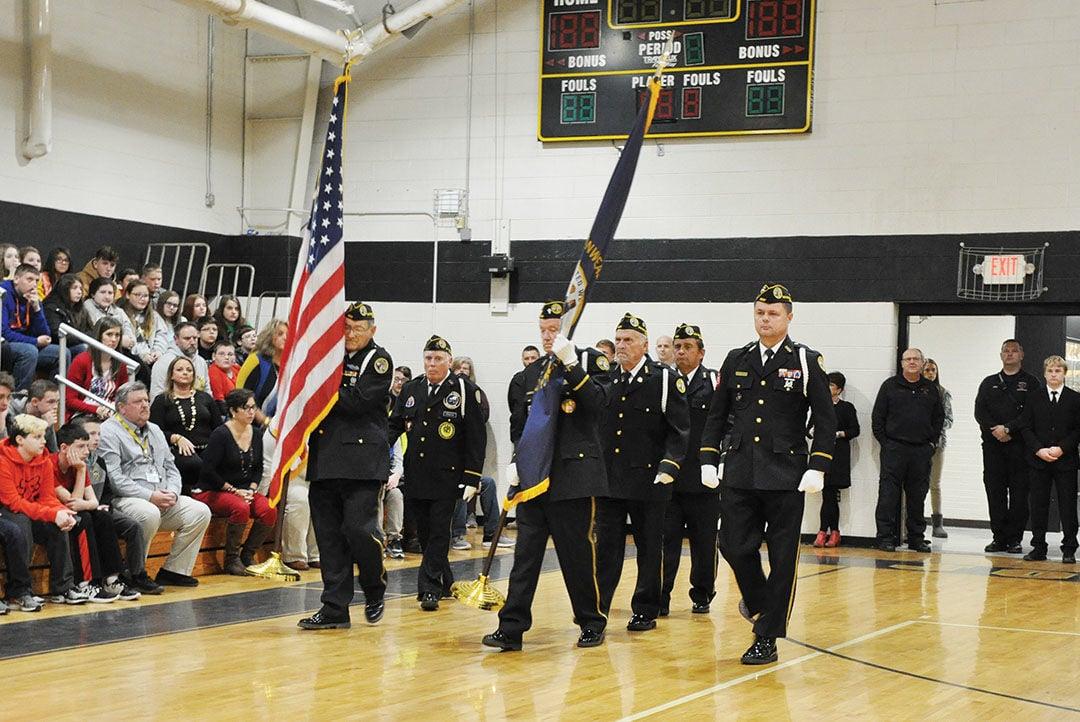 JCMS hosts Veterans Day ceremony