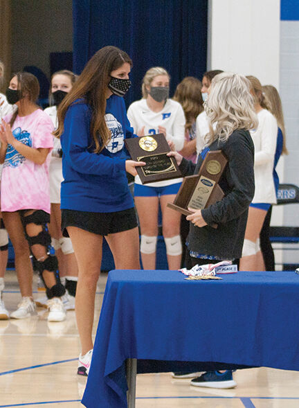 10-28 Dawn Kinner recieves coaches award after district title win.jpg