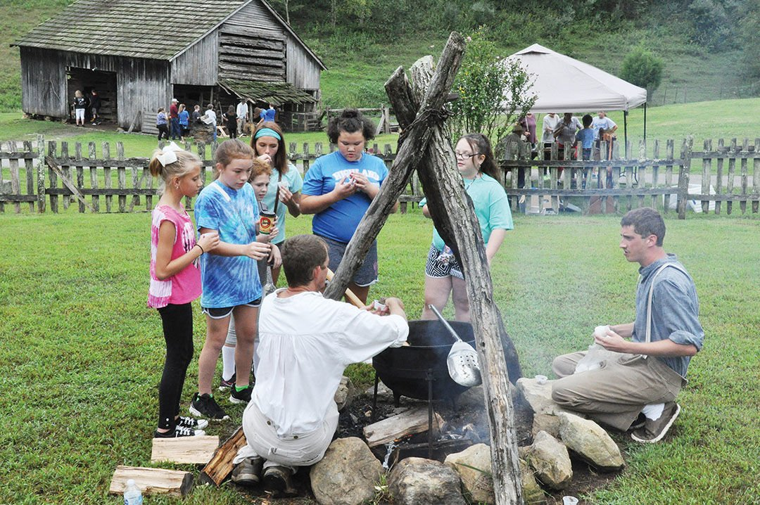 Students get hands-on history  lesson