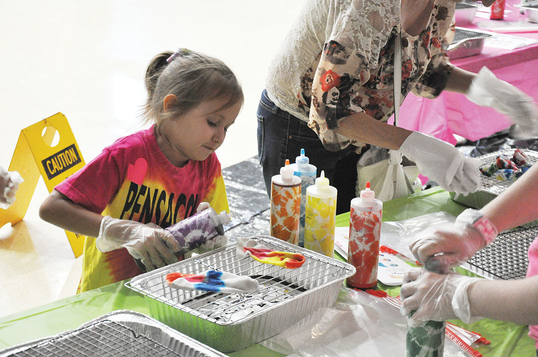 JCPL hosts tie dye event