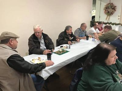 Williamsport Volunteer Fire Department hosts annual Christmas Dinner