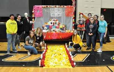 JCHS students celebrate Day of the Dead