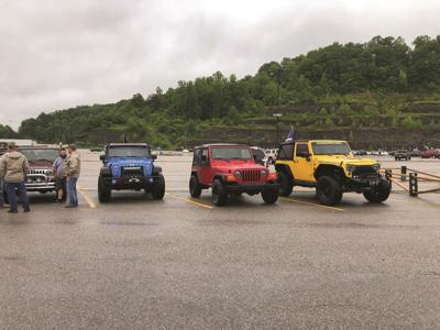 Jeeps roll out from Paintsville for KSP benefit Poker Run