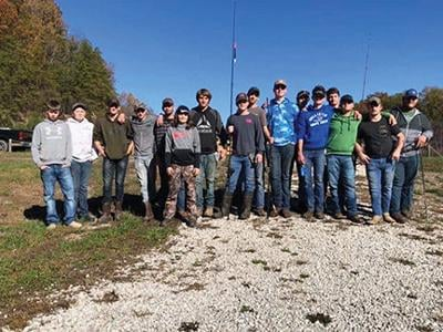 JCHS Hunting and Fishing club gets in one last fishing trip