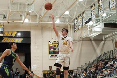 Golden Eagles fly past Mountain Mission, 58-51