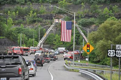 Community mourns firefighter