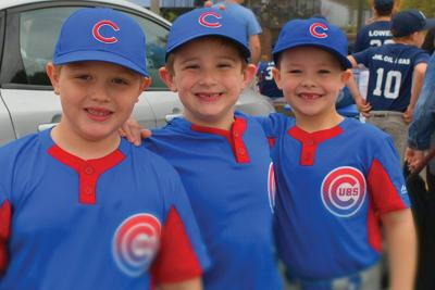 Little League opening day ceremonies