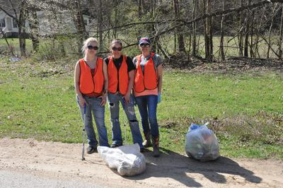 Boyd Branch cleaned up as part of Commonwealth Cleanup Week