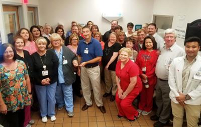 Paul B. Hall Regional Medical Center recently earned an award for patient safety