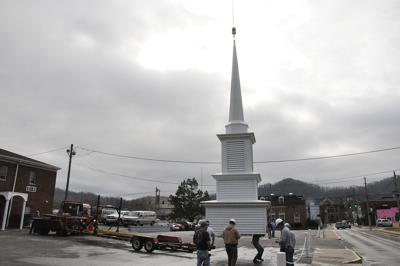 First Baptist Church receives new steeple