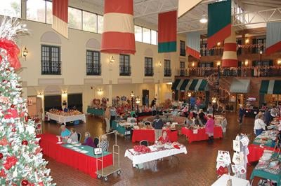 Holiday Happenings Craft & Antique Show held