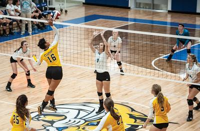 Johnson Central readies for volleyball season