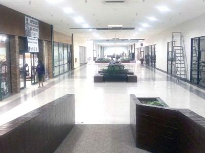 Interior view of Palestine Mall
