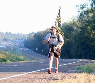 Veterans walk