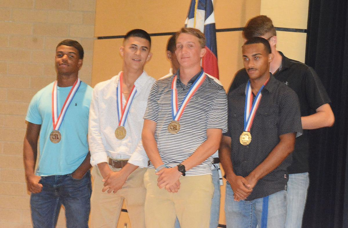 Elkhart 1,600-meter relay honored
