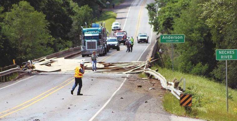 Crash Car Accident Scene
