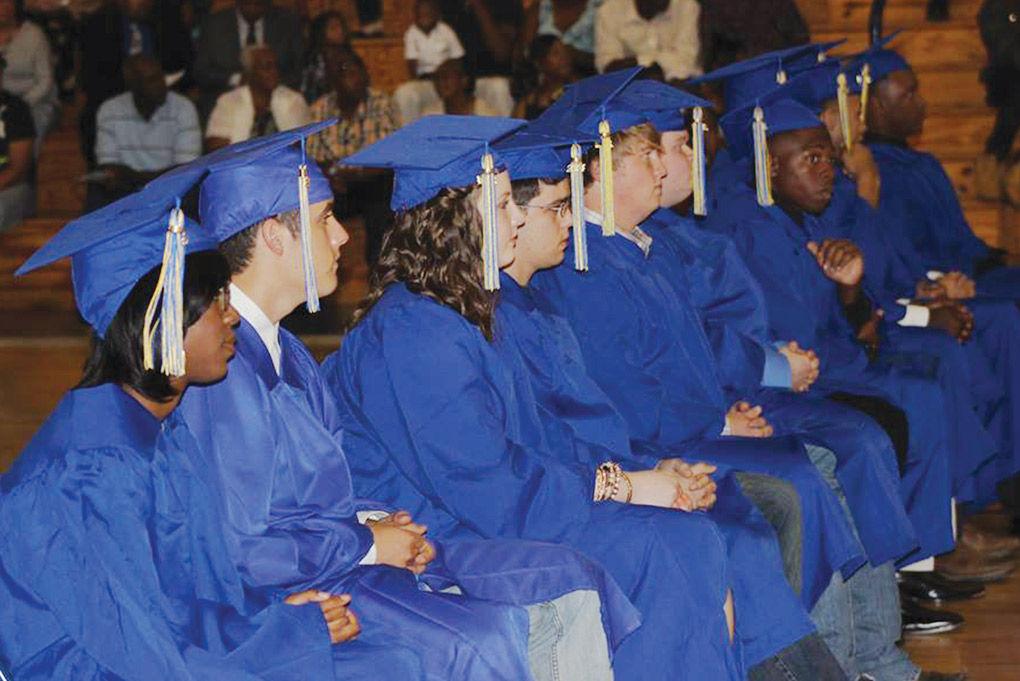 Oakwood High School graduates celebrate successes at Friday