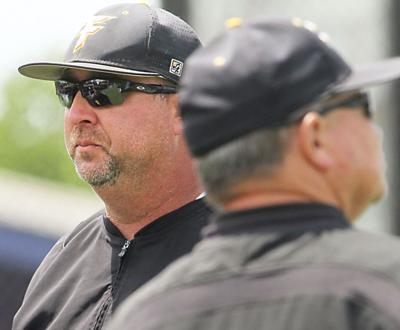 Forney head baseball coach Jason Farrow