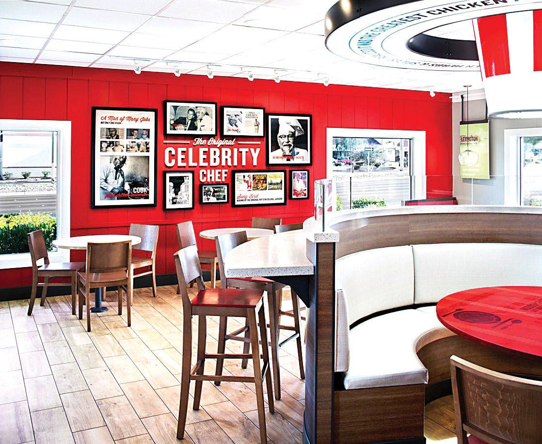 KFC renovations