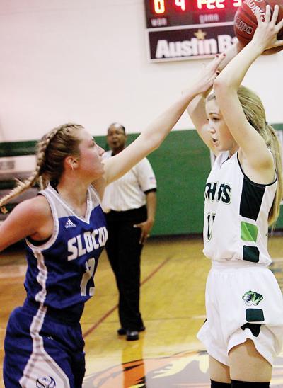 Neches-Slocum girls' basketball