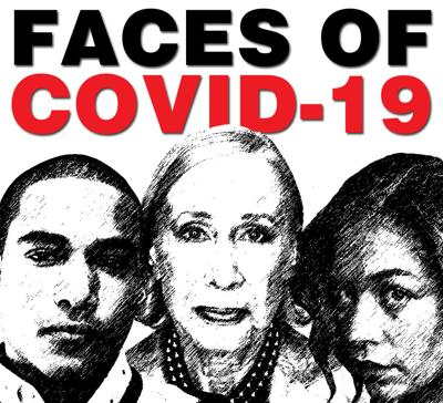 Faces of COVID-19 image