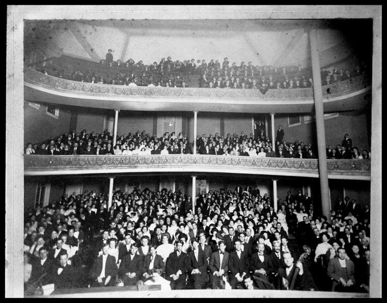 Temple Opera House auditorium