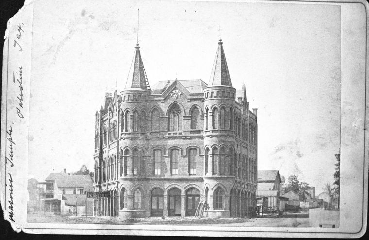 Temple Opera House circa 1878
