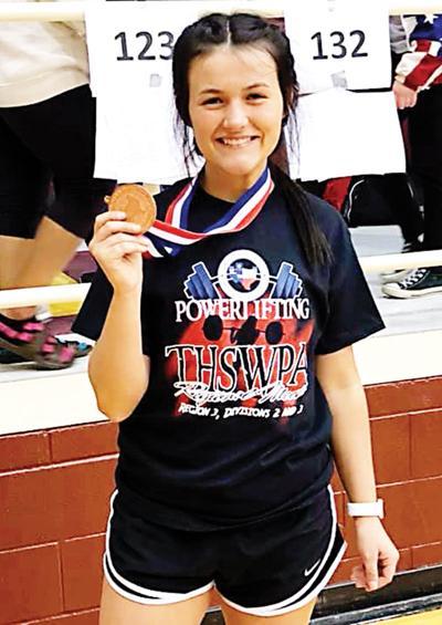 Elkhart's Chloe Ives with bronze medal