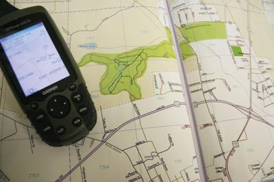 new map book with gps
