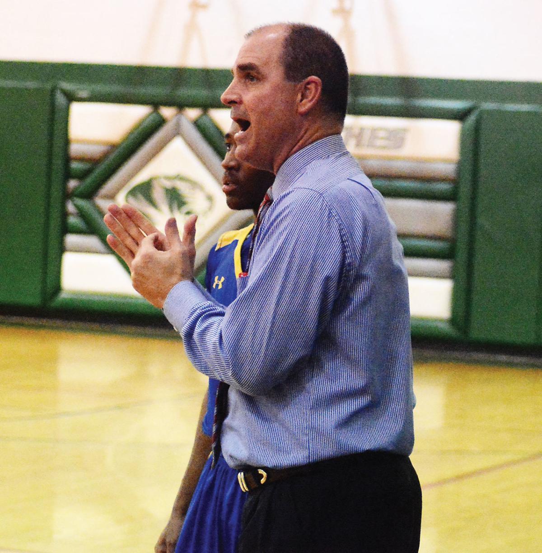 Oakwood coach Michael Ostlund
