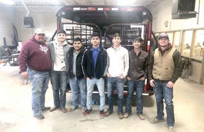 PHS cattle trailer team