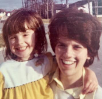 Amy French and mother