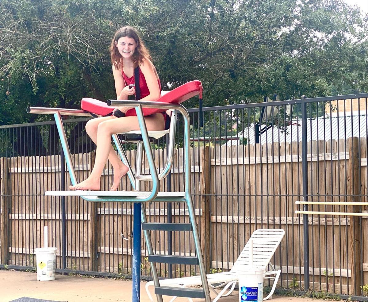 YMCA lifeguard