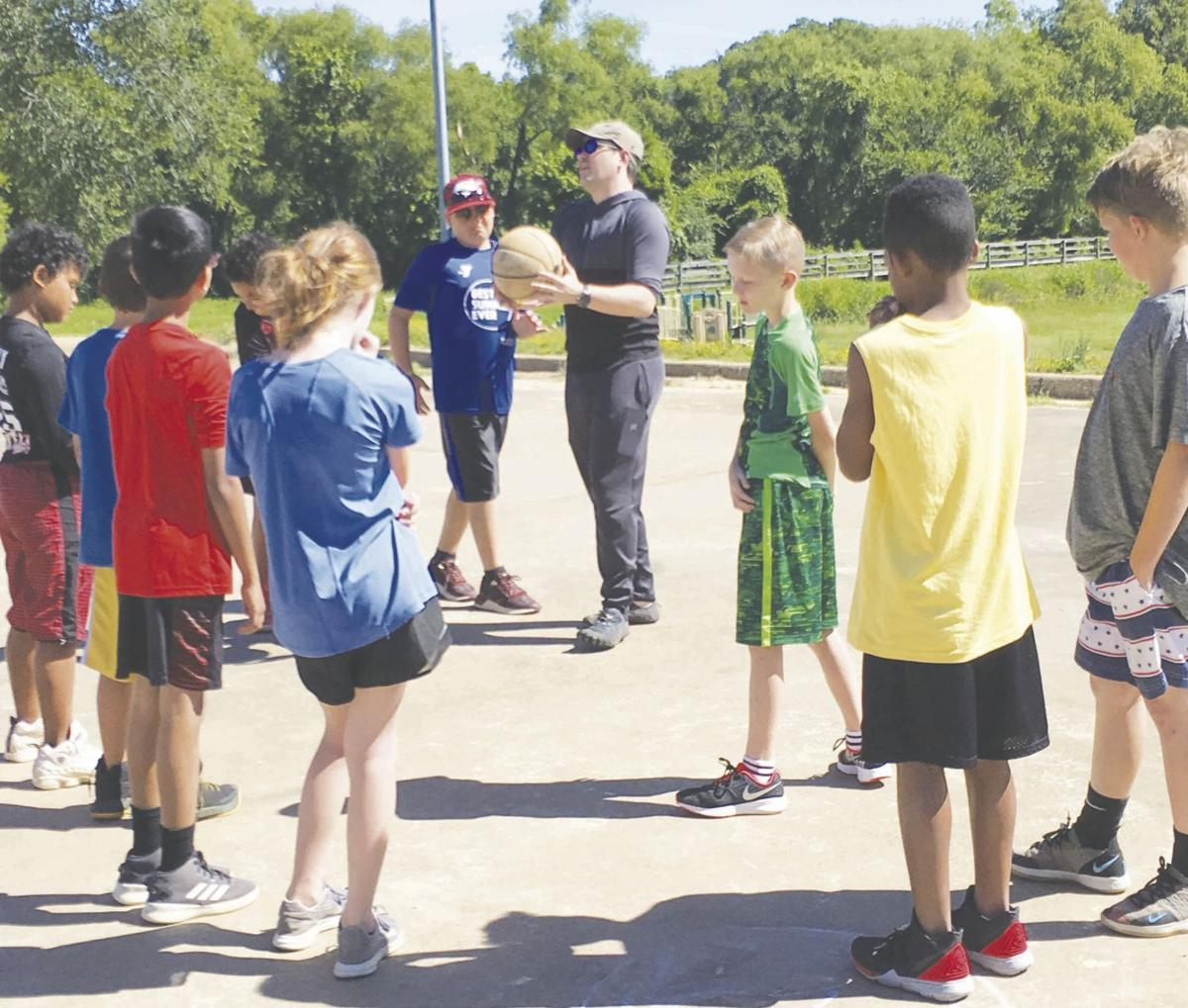 Rev. Byrd teaches character at YMCA