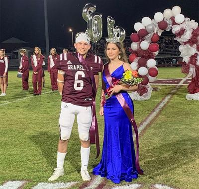 Grapeland Homecoming King & Queen