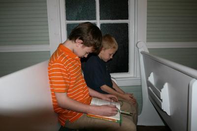 Wyatt and Walker Webb