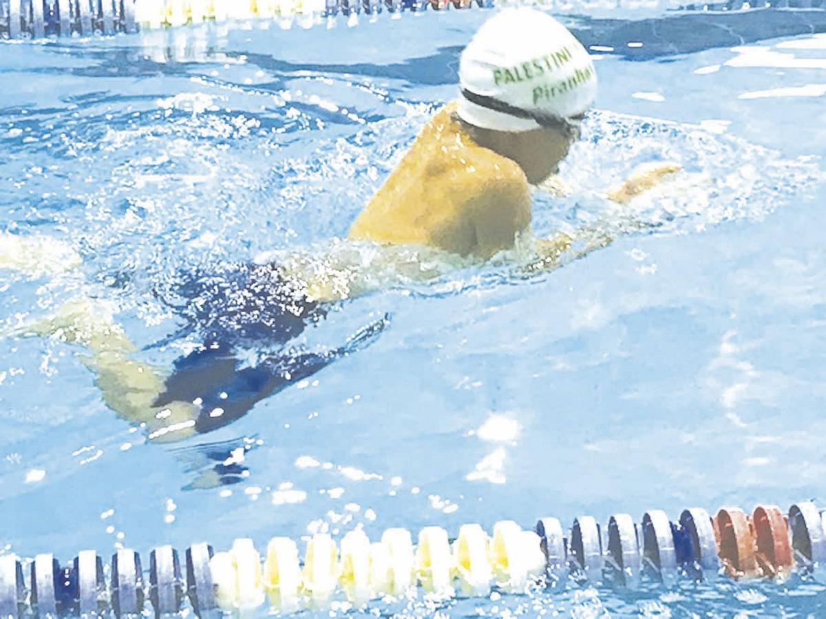 Gideon Ham—swimming