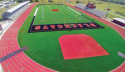 Mexia's new playing surface